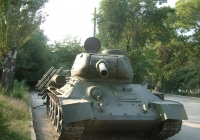 USSR Tank T34 Front View Photo