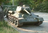 USSR Tank T34 Quarter View Photo