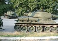 USSR Tank T34 Left View Photo