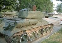 USSR Tank T34 Rear Quarter View Photo