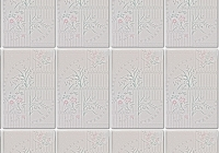 White Rectangle Tile Texture