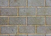 Grey Brickwork Style Sidewalk Texture