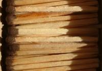 Matches texture