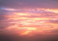 Pink Sunset Sky texture