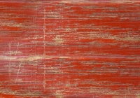 old wood red paint with scratches