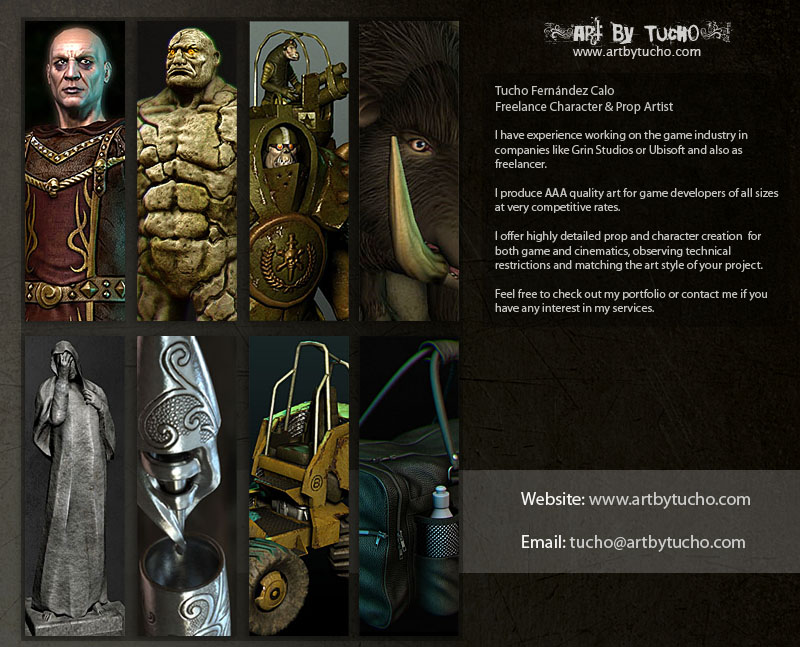 character  u0026 prop artist available for freelance work - available 3d artists