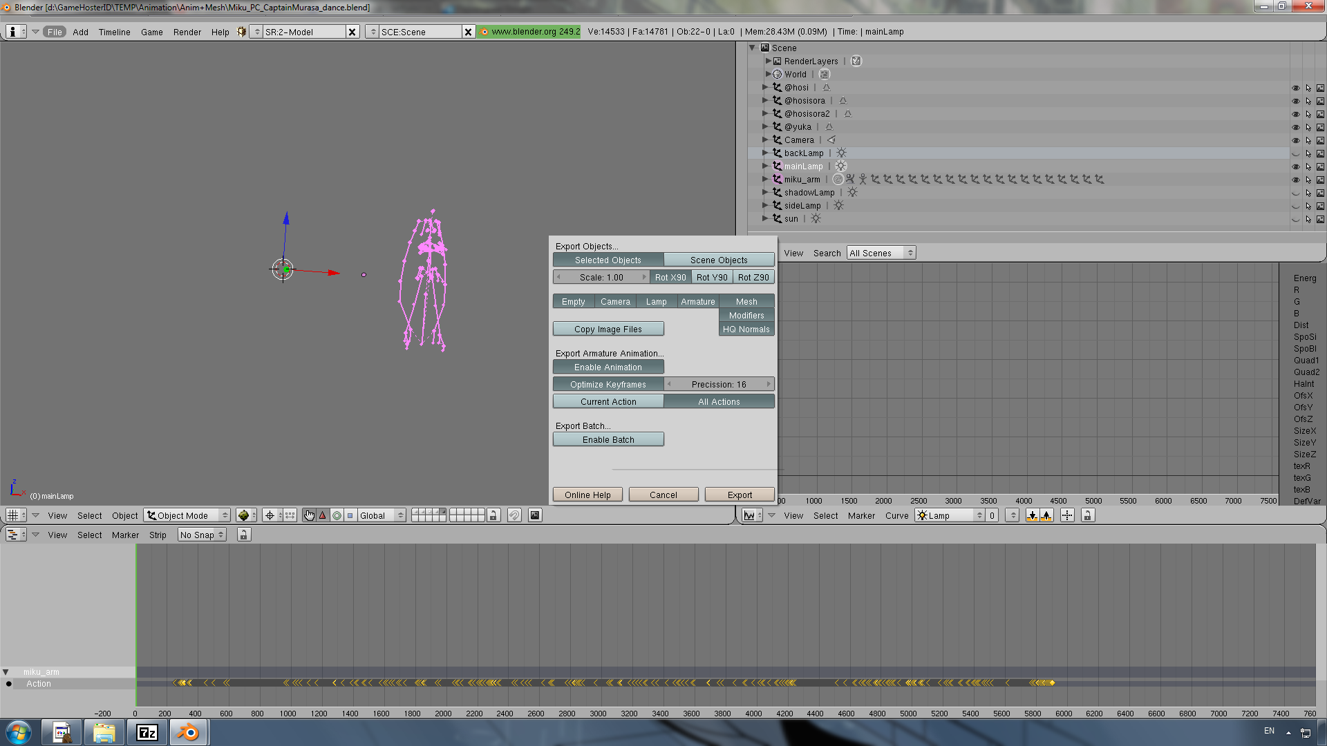 Blender's FBX Import to 3ds max - 3D Animation Talk