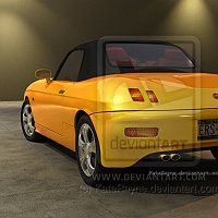 FIAT BARCHETTA 3D model, #1 in the internet, For Sale! Commercial 3D Models