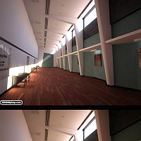 long corridor Finished 3D Art Work