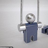 jumper key ring Finished 3D Art Work