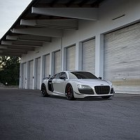 Audi R8 GT Finished 3D Art Work