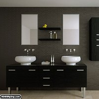 modern bathroom Finished 3D Art Work