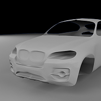 BMW X6 with Blender 2.48a needs input 3D Art Work In Progress