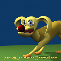 3D Cartoony Dog  with nice expressions Finished 3D Art Work