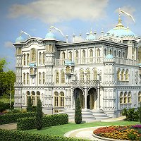 Fairytale house Finished 3D Art Work