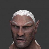 elf characters I�m making for a game 3D Art Work In Progress