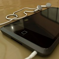 My first 3D model - Ipod Touch Finished 3D Art Work