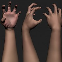 Hands! 3D Art Work In Progress