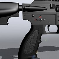 HK416 Assault Rifle 3D Art Work In Progress