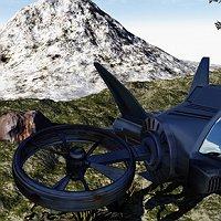 New Avatar Aircraft Finished 3D Art Work