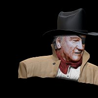 model of John Wayne Finished 3D Art Work