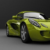 updated Lotus Elise 3D Art Work In Progress