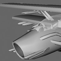 Fokker SA-183 TPe WIP and Smoothing Question 3D Art Work In Progress