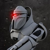 Student animator seeking critiques regarding model cylon 3D Art Work In Progress