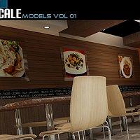3d furniture models collections Commercial 3D Models