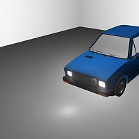 Car model - Yugo 55 Finished 3D Art Work