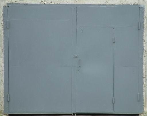 metal door texture. grey painted metal door texture