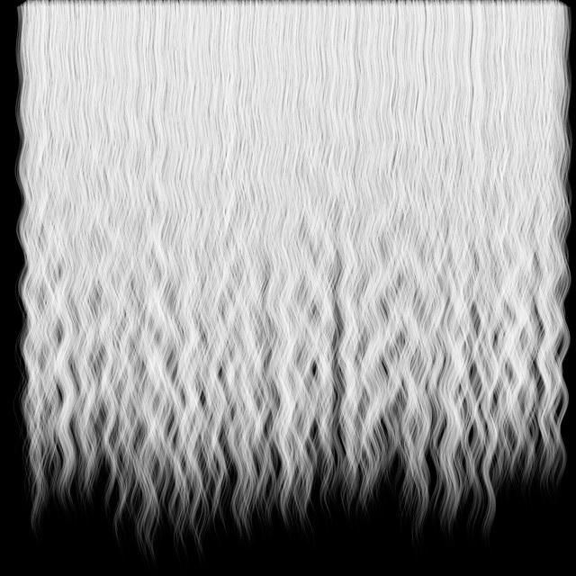 Dark Hair Alpha