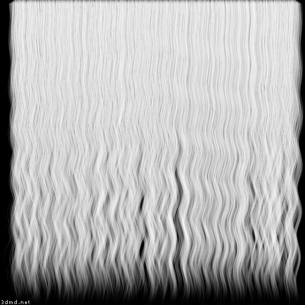 human hair textures wavy hair texture transparency map