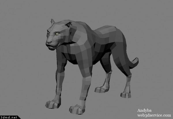 Panther 3d model wip panther 3d model wip image gallery